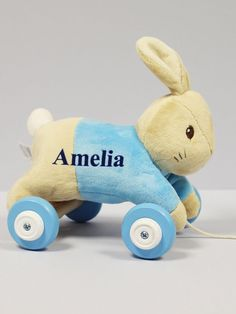 Great Baby Xmas Gift 40cm Tall Personalised Soft Toy Christmas Reindeer ALL ORDERS PERSONALISED AND DISPATCHED WITHIN 24 HOURS.