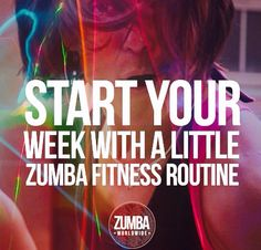 Here's to a Zumbalicous week!