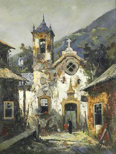 Durval Pereira  Ouro Preto - ost  1973 - 102 x 77