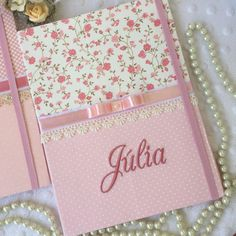 Notebooks Workout Plans workout plans to get back in shape Diy Notebook, Decorate Notebook, Notebook Covers, Mini Album Scrapbook, Scrapbook Bebe, Fabric Book Covers, Diy And Crafts, Paper Crafts, Frame Crafts