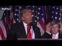 Video del discurso en español de Donald Trump luego de ganar presidencia EEUU