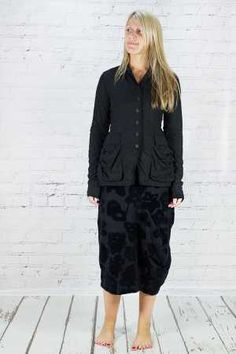 rh165207 - Rundholz Black Label Jacket @ Walkers.Style buy women's clothes online or at our Norwich shop.