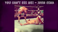 Can you see John Cena? Re-pin to show your Cenation support!