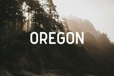 Font of the day: Oregon | Typography | Creative Bloq