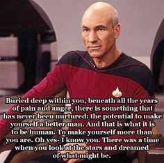 Let us be reminded of Captain Picards wisdom on Sir Patrick Stewarts birthday (10 Photos)