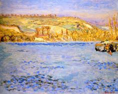 Pierre Bonnard - The Seine at Vernonnet