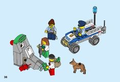 City - Police Starter Set [Lego 60136]