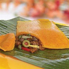 Resultado de imagen de hallacas venezolanas Tacos, Mexican, Cooking, Tableware, Ethnic Recipes, Kitchen, Food, Ideas, Food Cakes