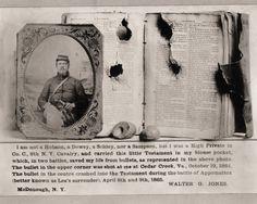 The Good Book saved his life.