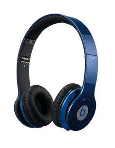 Casque Beats Solo HD par Dr Dre de couleur bleu métallique pour les amateurs de musique de qualité professionnelle ! €227.63