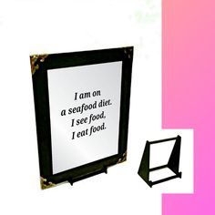 Kitchen Quote Engraved Mirror Only Kitchen Quotes, Wall Hanger, Mirrors, Adhesive, Cooking Quotes, Mirror