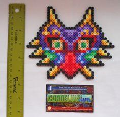 Zelda Custom Majora's Mask Bead Sprite by CorneliusPixelCrafts