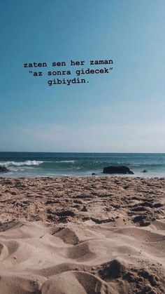 Source by busracorek Olay, True Words, Wallpaper Quotes, Cool Words, Quotations, Lyrics, Tumblr, Beach, Water
