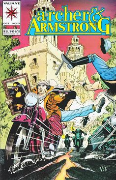 Mike Vosburg (born 23 July 1947 USA) created and contributed to some of the earliest comics fanzines... Mike Vosburg (born 23 July 1947 USA) created and contributed to some of the earliest comics fanzines in the 1960s. His stories were published by Charlton Kitchen Sink DC Comics Marvel and others. During the 1990s he created nearly 100 comic-book covers designed to look like issues of Tale from the Crypt for the television series of that name. At Comiclopedia  http://ift.tt/2uNHNN2 At…
