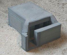 DOLP - Modellbau, Top, Shop, M.G.M. Bunkermodelle 1/72, Bunker, M.G.M. 70/02