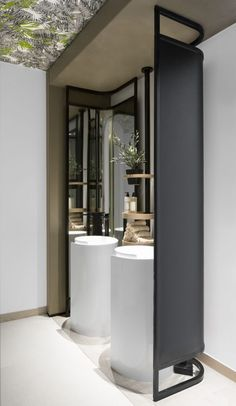 Restaurant Designs: Shababeek, Sharjah - Love That Design Wc Design, Toilet Design, Clinic Interior Design, Restaurant Interior Design, Restaurant Bathroom, Bathroom Toilets, Bathrooms, Washroom Design, Bar Design Awards
