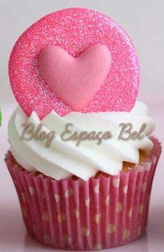 Cupcakes lindos e fofos!  http://bebelvirtuosa.blogspot.com.br/