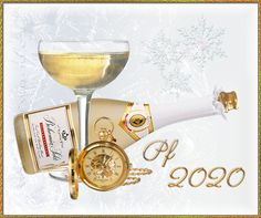 Gify Nena - Nový rok 1 Alcoholic Drinks, Champagne, Tableware, Dinnerware, Tablewares, Liquor Drinks, Alcoholic Beverages, Dishes, Place Settings