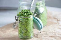 Nut-Free Wild Garlic Pesto [Vegan, Nut-Free, Gluten-Free]   One Green Planet