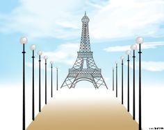 Free Paris Powerpoint Template