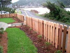 DIY garden fence idea