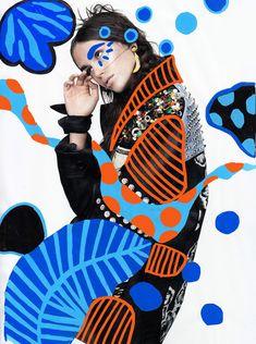 Vibrant collage artworks by andreea robescu - inspiration grid design inspi Collage Foto, Mode Collage, Collage Portrait, Collage Artwork, Poster Collage, Collage Drawing, Photo Collage Design, Pop Art Collage, Portraits