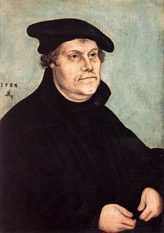 Portrait of Martin Luther: 1543