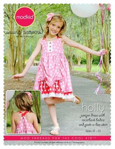 HOLLY Jumper Dress by MODKID 2T - 10