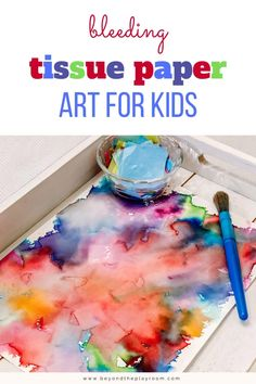 Paper Art Projects, Art Activities For Toddlers, Kindergarten Art Projects, Art Projects For Kindergarteners, Art With Toddlers, Art For Preschoolers, Day Camp Activities, Sensory Activities For Autism, Toddler Art Projects