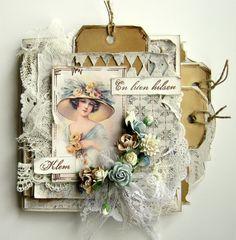 Wonderful tag card, by Heidi