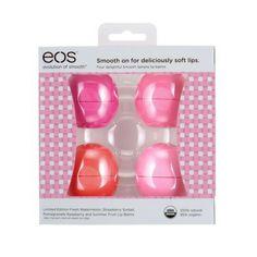 EOS Moisturizing Lip Balm - 4 pack Target...LE Fresh Watermelon!