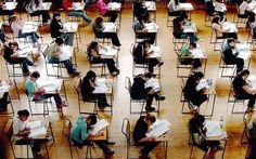 University exams: just a couple of sentences are offered to describe whole degree classes.