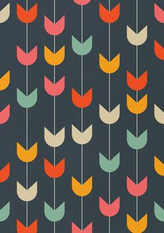Poster | TULIPS von Tracie Andrews | more posters at http://moreposter.de
