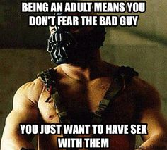 With Bane (T Hardy)? Khan & Loki...The Governor...The List Goes On