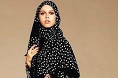 Dolce & Gabbana Debuts High-End Hijab And Abaya #Collection | #Fashion #Style #Designs