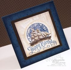 Another exceptional use of 'The Open Sea'.  This lady has a whole board devoted to this stamp set.  http://pinterest.com/beedivinedesign/stampin-up-the-open-sea/