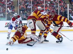 #5: Mikka Kiprusoff - next to Fleury, the most athletic goalie in the game.  LOVE the Flames Heritage Classic Unis!