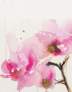 Karin Johannesson; Watercolor