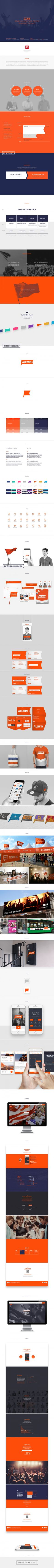 Group Saving Action ALLWIN Brand Experience Design on Behance - created via https://pinthemall.net