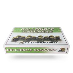 Pittsburgh Panthers Checkers Set