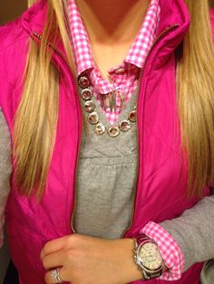 Grey, pink, and bling