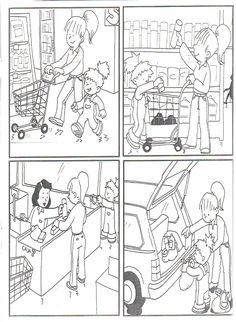 Foto: en el supermercado