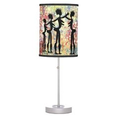 #home #lamps #decor - #14 African Designer Background Print Table Lamp