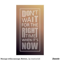 Message within message. Motivational quote design.  #motivationalquote #inspirationalposter #encouragement