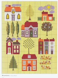 Maisons • Chart - don't think I like the yellow background