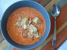 """Panera Creamy Tomato Soup recipe. One commenter said: """"Great recipe! I also have looked all over for a clone to this soup that ACTUALLY tastes like the real thing and I have found it!"""""""