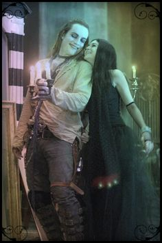 Was I the only one that wanted these two together?? GraveRobber + Shilo Wallace #Repo!TheGeneticOpera