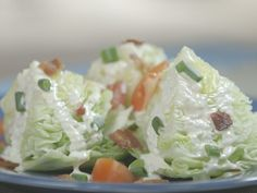 Blue Cheese Wedge Salad : Recipes : Cooking Channel