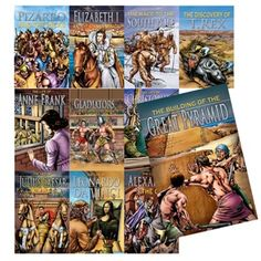 Stories From History - Set of 11 Graphic Novels