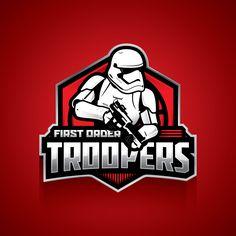 Stormtrooper badge - Star Wars